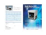 エムエステクノス株式会社の自動分注装置のカタログ