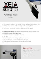 XELA・Robotics株式会社の触覚センサーのカタログ