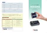 ACO DAQ TYPE8835 Spectra DAQ-200のカタログ