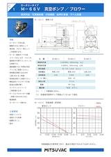 株式会社三津海製作所のロータリーポンプのカタログ