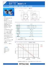 株式会社三津海製作所のダイヤフラムポンプのカタログ