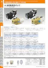 小型油回転真空ポンプGCD-136XNのカタログ