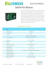 エジスモステクノロジー株式会社のToFカメラのカタログ