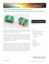 Excelitas Technologies Corp.のレーザーダイオードのカタログ