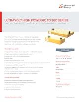 Advanced Energy Industries, Inc.の電圧変換器のカタログ