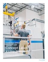 GE Additive Concept Laser X Line 2000Rのカタログ
