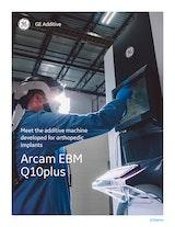 GE Additive Acram EBM Q10plusのカタログ