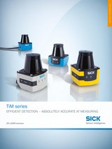 TiM series EFFICIENT DETECTION - ABSOLUTELY ACCURATE AT MEASURINGのカタログ