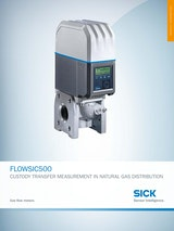 FLOWSIC500 CUSTODY TRANSFER MEASUREMENT IN NATURAL GAS DISTRIBUTIONのカタログ