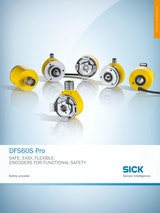 DFS60S Pro SAFE, EASY, FLEXIBLE: ENCODERS FOR FUNCTIONAL SAFETYのカタログ