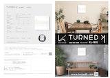 TURNED K 光触媒 除菌・脱臭機/ターンド・ケイ KL-W01のカタログ