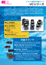 ココリサーチ株式会社の流量センサーのカタログ
