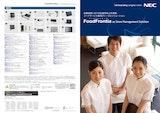 店舗経営における生産性向上を実現。フードサービス業向けトータルソリューション FoodFrontia as Store Management Solutionのカタログ