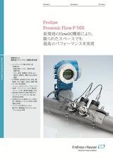 エンドレスハウザージャパン株式会社の流量計のカタログ