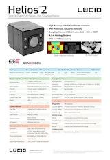 LUCID Vision Labs Inc.のToFカメラのカタログ