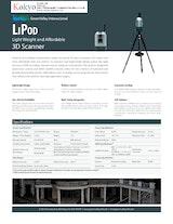 株式会社光響のLiDARセンサーのカタログ